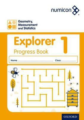 Numicon Geometry, Measurement and Statistics 1 Explorer Progress Book — Pack of 30