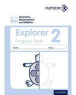 Numicon Geometry, Measurement and Statistics 2 Explorer Progress Book — Pack of 30