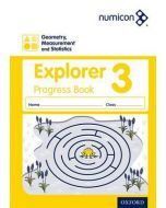 Numicon Geometry, Measurement and Statistics 3 Explorer Progress Book — Pack of 30