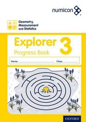 Numicon Geometry, Measurement and Statistics 3 Explorer Progress Book — Pack of 30