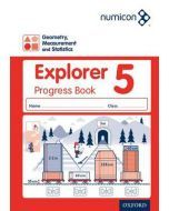 Numicon Geometry, Measurement and Statistics 5 Explorer Progress Book — Pack of 30