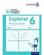 Numicon Geometry, Measurement and Statistics 6 Explorer Progress Book — Pack of 30