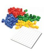 Numicon Baseboards & Coloured Pegs Pack