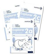 Numicon Number, Pattern and Calculating 2 Explorer Progress Books — Pack of 90