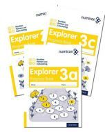 Numicon Number, Pattern and Calculating 3 Explorer Progress Books — Pack of 90