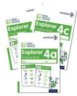 Numicon Number, Pattern and Calculating 4 Explorer Progress Books — Pack of 90