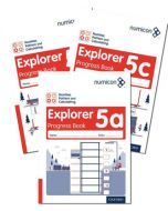 Numicon Number, Pattern and Calculating 5 Explorer Progress Books — Pack of 90