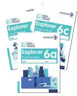 Numicon Number, Pattern and Calculating 6 Explorer Progress Books — Pack of 90