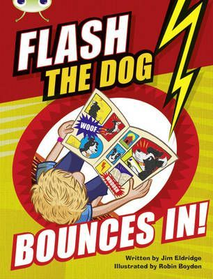 Flash the Dog Bounces In!