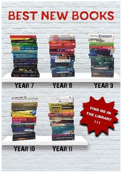 Downloadable Poster - Best New Books for Years 7-11