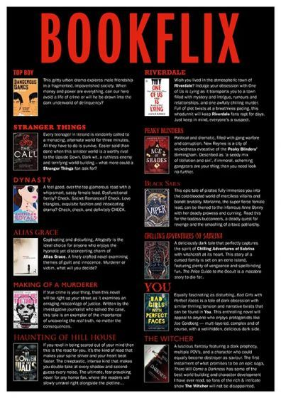 Downloadable Poster - Bookflix