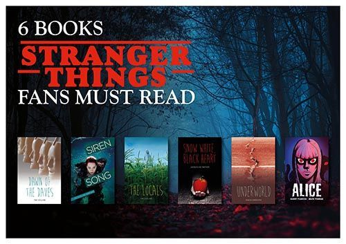 Downloadable Poster - Books for Fans of Stranger Things
