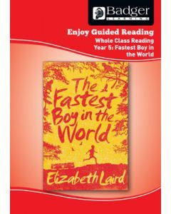Enjoy Whole Class Guided Reading: The Fastest Boy in the World Teacher Book