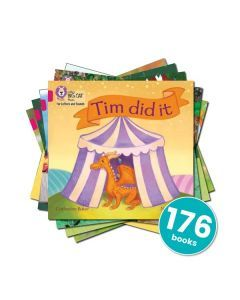 Big Cat Phonics for Letters & Sounds: Set 1, 2 and 3 (Complete Set)