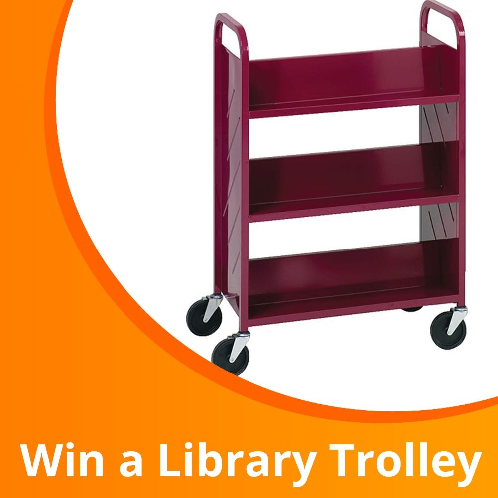 Win a Library Trolley for Your School